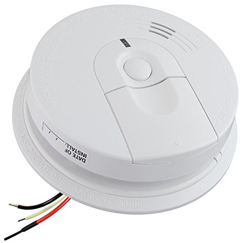 ZEUS CCTV 1080P HD Smoke Detector WiFi Spy Camera Wireless IP Wi-Fi Mobile Covert Hidden Nanny Cam Spy Camera Gadget (Connects to Your existing Smoke Detector Connection, 120V AC Quick Connector)