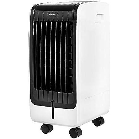 mini ventilador de aire acondicionado personal para d/ía caliente Ventilador port/átil Yolife de aire acondicionado ventilador de refrigeraci/ón evaporativo con temporizador 3 velocidades