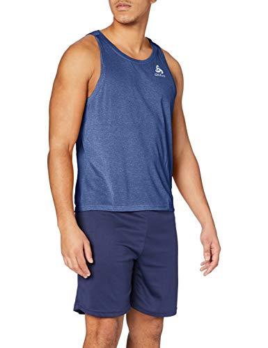 Odlo 350392 Débardeur Homme Sodalite Blue Melange FR : XL (Taille Fabricant : XL)