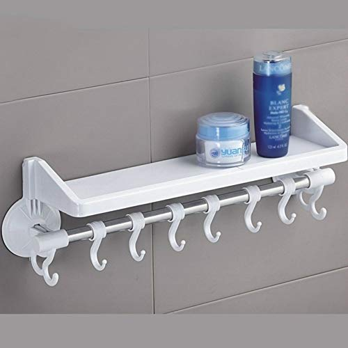 STAC Baño Fuerte Ventosa WC Pared Colgante baño Libre Punch Inodoro de una Sola Capa Estante de Almacenamiento Marco de Esquina