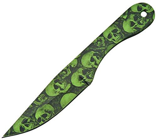 SZCO Supplies Skull Deadwalker Throwing Knife Set (12-Piece)