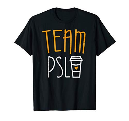 Team PSL T-Shirt Pumpkin Spice Latte Lover Gift T-Shirt