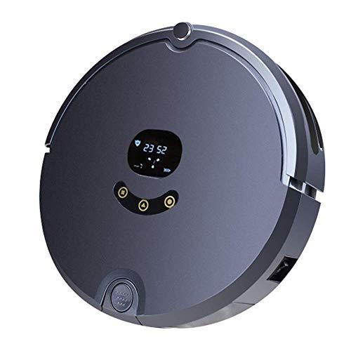 Luyshts Robot aspirador, 2000PA, súper potente, 2,7 pulgadas, ultrafino, carga automática, esterilización ultravioleta, muy silencioso, función inteligente anticolisión, adecuado para varios materiale