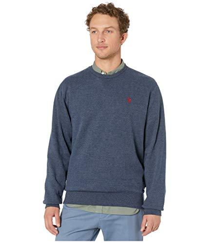 U.S. Polo Assn. Sweat-shirt à manches longues classique pour homme - Bleu - Large