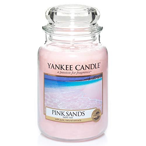 Yankee Candle Duftkerze im Glas (groß) | Pink Sands | Brenndauer bis zu 150 Stunden