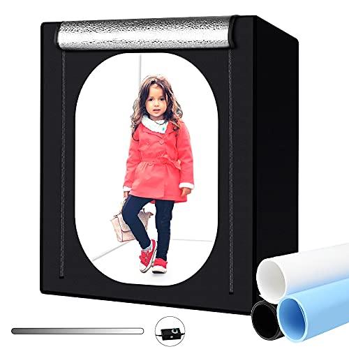 Heorryn Professional Photo Light Box, 55''/140cm Photo Studio Box Folding Shooting...