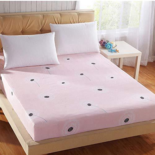 Zlzty Hoeslaken, elastisch, bedrukt bedlaken, eenpersoonsbed-beddengoedset