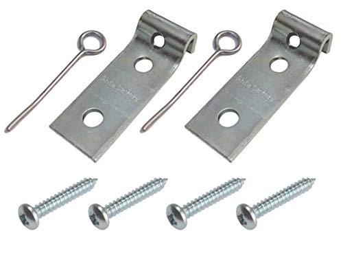 Staffe per riparazione di molla zig zag del divano (2pezzi)