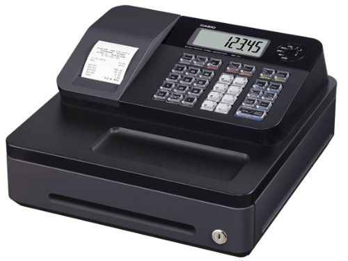 Casio SE-G1SB - Caja registradora, color negro