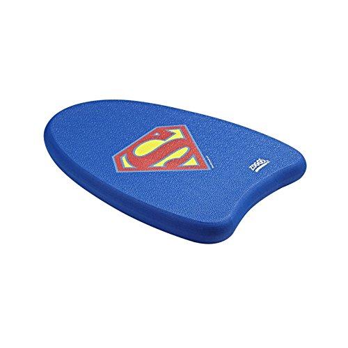 Zoggs Kinder Superman-Mini Kickboard Schwimmlernhilfe, Blue, 3-12 Jahre