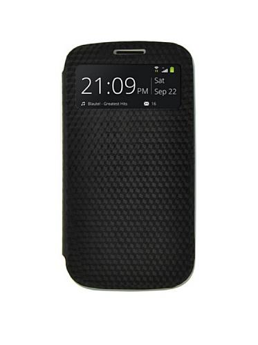 Blautel Samsung F.4-Ok Cover Flip Wind Galaxy S4 Negro