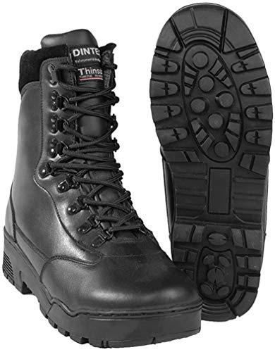 Mil-Tec Tactical Stiefel Leder (Schwarz/45/US 12)