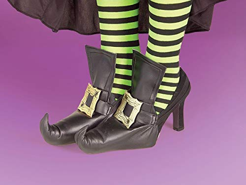 Forum Novelties Witch Shoes Covers, Gold