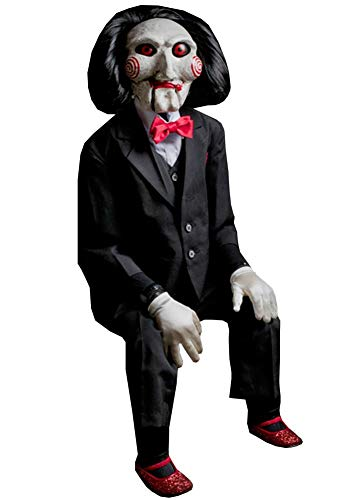 SAW Billy Puppet Halloween Costume Prop