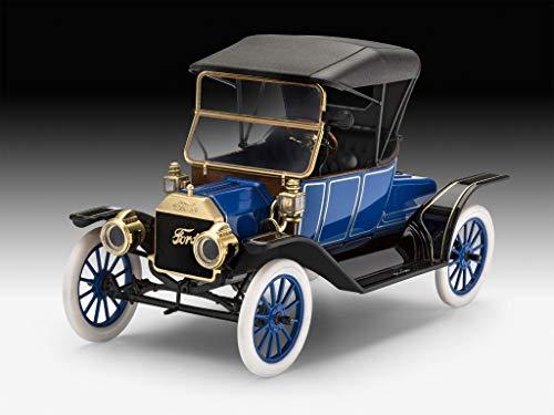 Revell Revell 07661 7661 1913 Ford Model T Roadster, Automodellbausatz 1:24, 14,4cm REV-07661, unlackiert, 44220