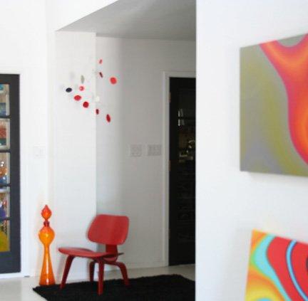 Mid Century Modern Hanging Art Mobile - Calder Inspired - retro chic hip cool home decor