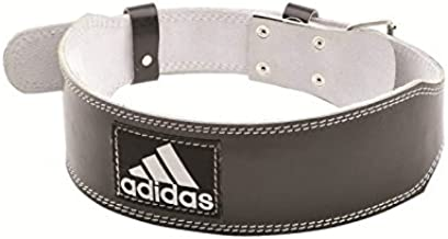 Reebok-ADGB-12236 Adidas Leather Weight Lifting Belt, XXL, Black