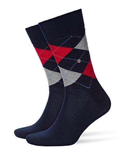 Burlington Herren King M SO Socken, Blau (Marine 6120), 40-46