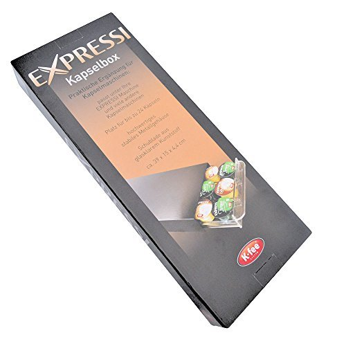 Expressi Kaspselbox Kapselhalter Aldi-Kapseln Expressi Espresso