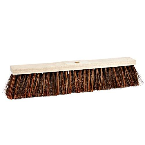 Besen 60 cm Piassava Fasern Straßenbesen Einschlämmen Industriebesen