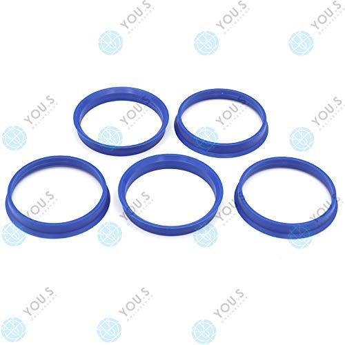 YOU.S ZENTRIERRING Lila bzw. Blau für ALUFELGEN 65,1 x 60,1 mm (5 Stück) - P10