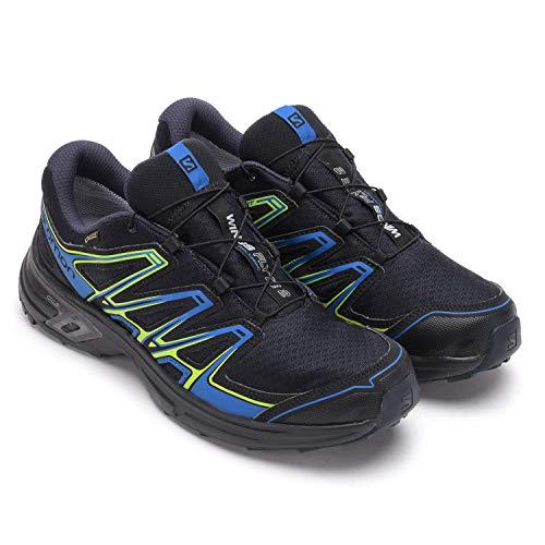 Salomon Wings Flyte 2 GTX, Zapatillas de Running para Asfalto para Hombre, Azul (Night Sky/Snorkel Blue/Graphite Night Sky/Snorkel Blue/Graphite), 41 1/3 EU