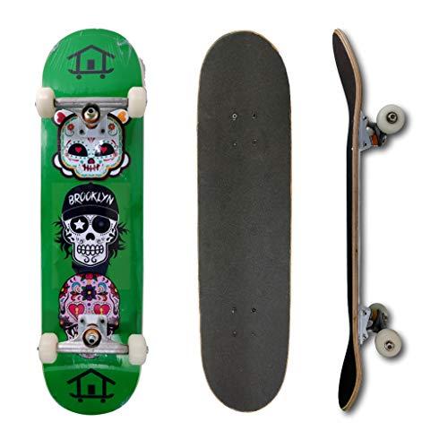 Skate Montado Profissional House Skateboarding Muerte