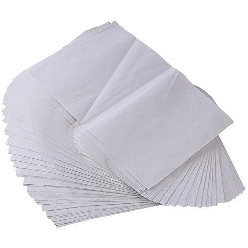 200 hojas de papel de vivero, papel de plantación de vegetales, 18 X 26,6 cm, adecuado para bandeja de germinación de plantas