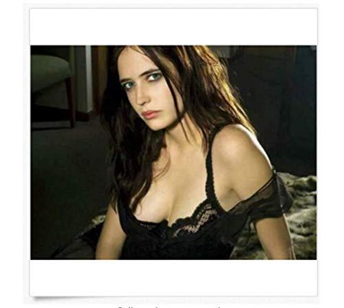KUANGXIN Eva Green Impression Photo Actrice Sexy Hot 007 Casino Royale Sin City Affiche Toile Peinture Affiche Art œuvre Unique (50X75Cm) -20x30 Pouces sans Cadre