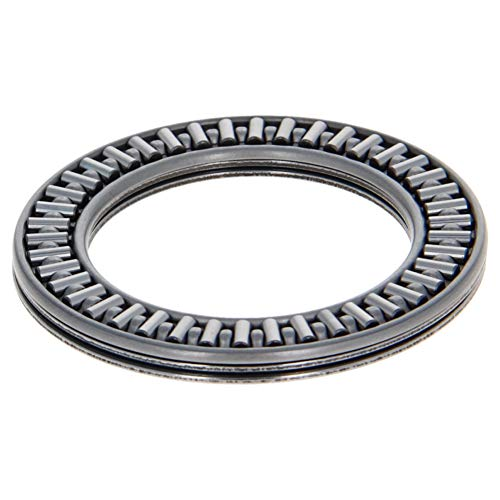 Othmro AXK3552 2AS Needle Roller Thrust Bearings with 2 Washers, 35mm Inner Diameter, 52mm OD, 4mm of Thickness, GCr15 Hardness 1pcs