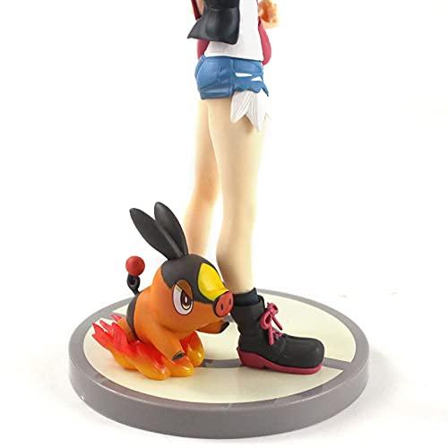 HHAA Figuras Anime 18-20Cm Artfx Kotobukiya Mei con Tsutarja Touko con Pokabu 1/8 Escala Pintada Figura PVC Colección Modelo Juguetes