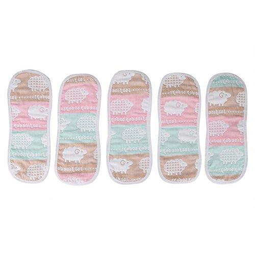 10枚セット 布おむつ ベビーガーゼケット コットン布のおむつ 洗える 再利用可能 通気性抜群 新生児にぴったりなおむつ すべてのスキンに適用する 高吸水性のソフトで安全なライナーを挿入する 赤ちゃん幼児新生児 肌に やさしい ベビー オールシーズンタイプ(#2)