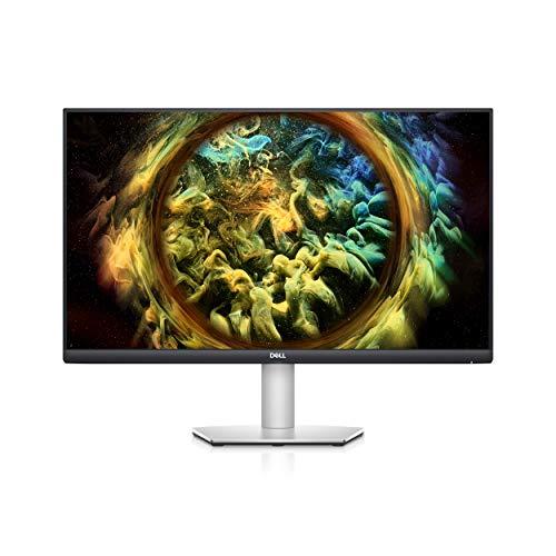Dell S2721QS, 27 Zoll, curved, 4K UHD 3840 x 2160, 60 Hz, IPS entspiegelt, 16:9, AMD FreeSync, 4 ms (extrem), höhenverstellbar