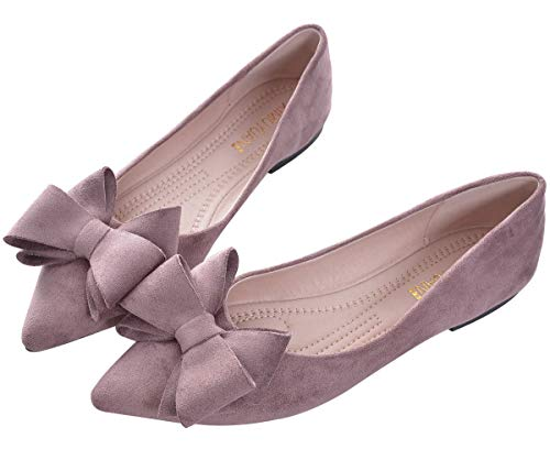 Top 10 best selling list for purple flat shoes with bow