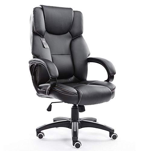Boss stoel draaistoel Lounge (multicolor) (kleur: W rode wijn) zwart
