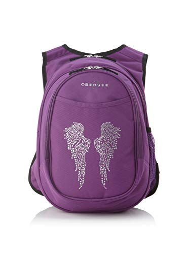Obersee O3KCBP001 Kinder Rucksack Kindergarten All-In-One Backpack, Engel Flügel