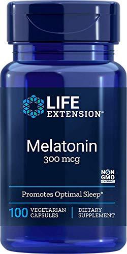 Life Extension Melatonin, 300 Mcg, 100 Capsules