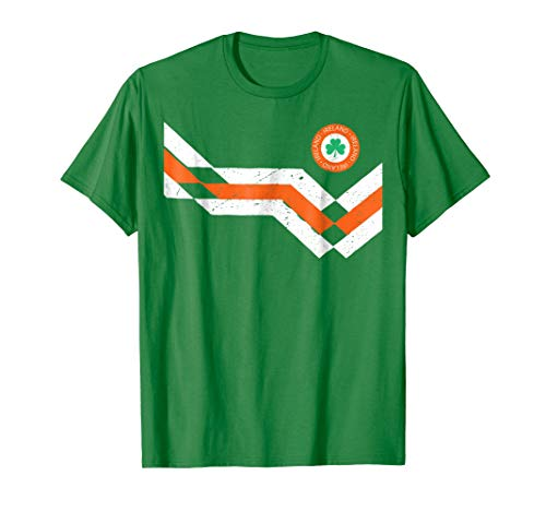 Retro Ireland Soccer Jersey EIRE Football T-Shirt 1990s