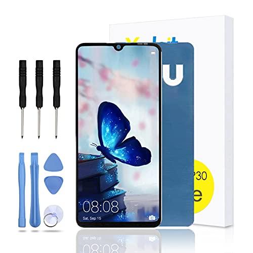 Yodoit Para Huawei P30 Lite reemplazo de pantalla, 6.1 pulgadas LCD táctil digitalizador Asamblea con kit de herramientas de reparación