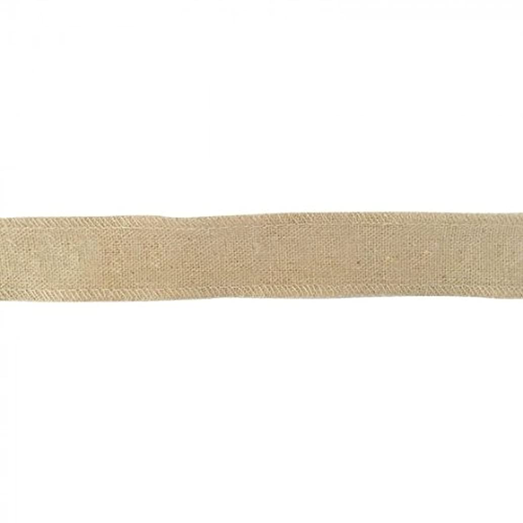 Vaessen Creative Unprinted Sewing Ribbon, Fabric, Natural/Black, One Size
