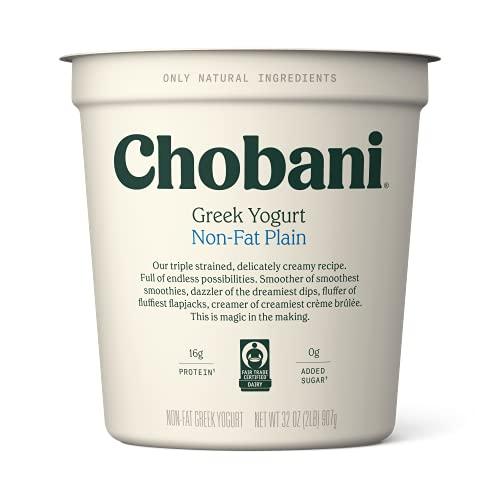Chobani Non-fat Greek Yogurt, Plain 32oz