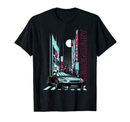 JDM Japanese Tokio Racecar Tuning Car T-Shirt