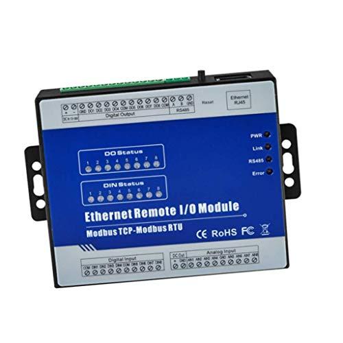 DXX-HR Módulo E/S de adquisición de datos TCP Ethernet de 8 canales,...
