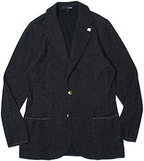 ラルディーニ LARDINI ニット ジャケット コットン リネン メランジ 金釦 JRLTM56-EI54001