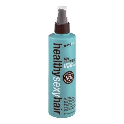 healthysexyhair - SOY Tri-Wheat Leave-In Conditioner Entwirrt, verschließt die Schuppenschicht & repariert Haarschäden nachhaltig - 250 ml
