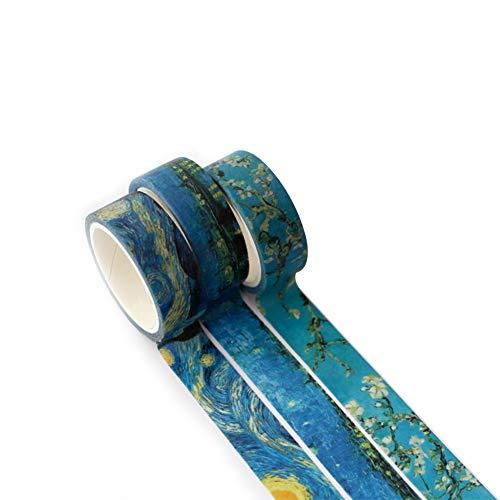 JUNGEN Washi Tape Cinta Adhesiva Washi Decorativa