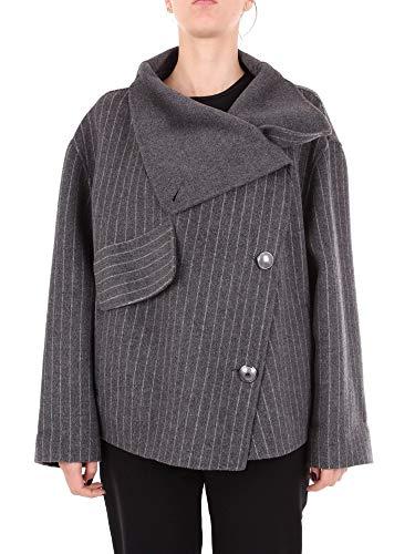 Luxury Fashion   Emporio Armani Dames 1NB37T19943016 Grijs Wol Mantels   Seizoen Outlet