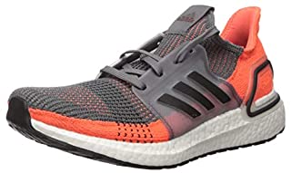 adidas Men's Ultraboost 19 Running Shoe, Grey/Black/hi-res Coral, 13 M US (B07KT2B47V)   Amazon price tracker / tracking, Amazon price history charts, Amazon price watches, Amazon price drop alerts