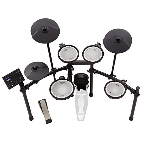 Roland TD-07KV Electronic Drum Kit, complete with Bluetooth Technology for audio and MIDI Streaming, Roland's World-Famous dual-ply mesh heads, over 140 Different drum sounds
