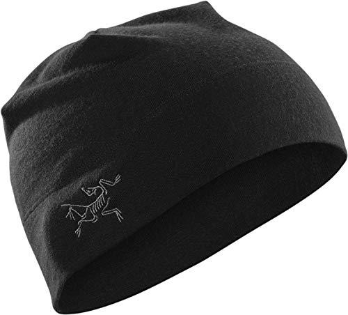 Arcteryx, Rho LTW Beanie, Black, UNI
